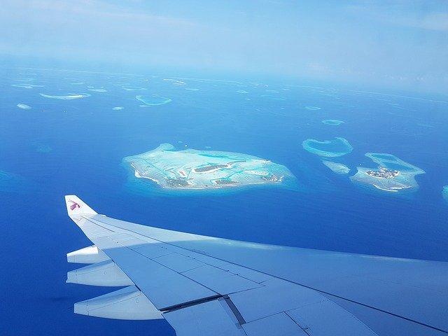 Maledivy letecky