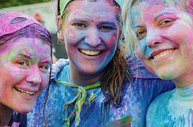 špinavé od barev