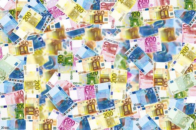 eura na účtu