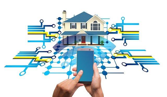 inteligentní domácnost přes mobil