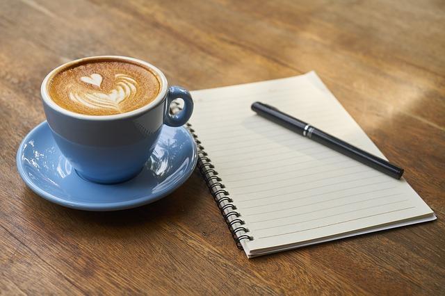 srdíčko na kávě