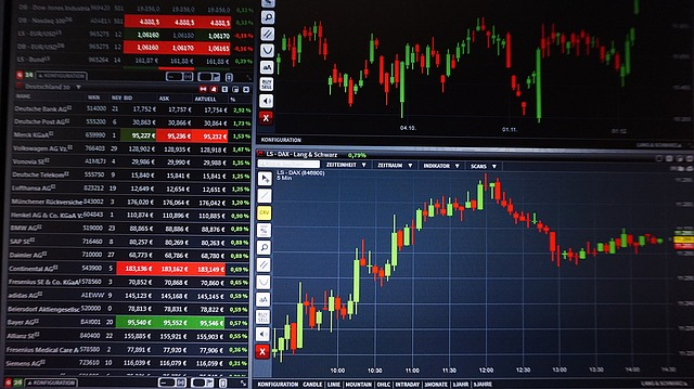 tabulka – obchodování, burza